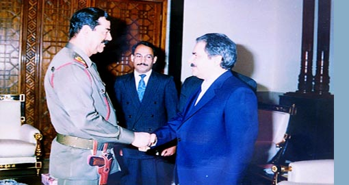 The MKO treacherous alliance with the former Iraqi dictator