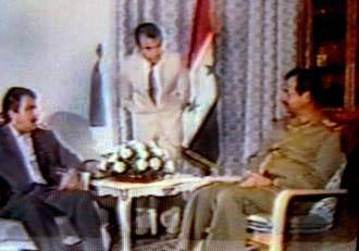 فرقه مجاهدی خلق فی مرآة التاریخ  ، تحالف زمره مجاهدی خلق مع صدام