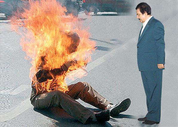قيادة منظمة خلق تجبر أعضاء ليبرتي على حرق أنفسهم إذا أصر العراق على إخراجهم