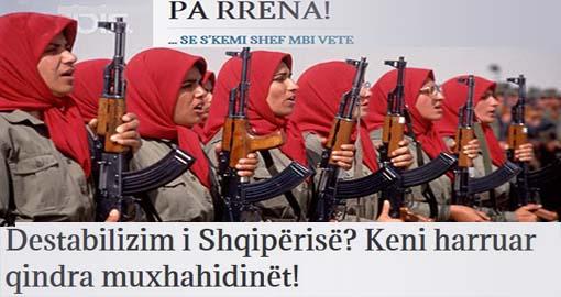 Albania's destabilization? You have forgotten hundreds of Mojahedin!