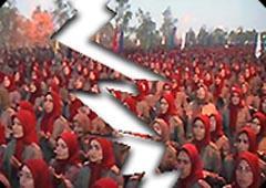 Rajavi's absurd claim of equality !