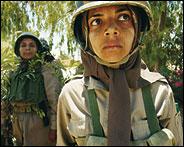 مكانة المرأة في فرقه المجاهدی خلق