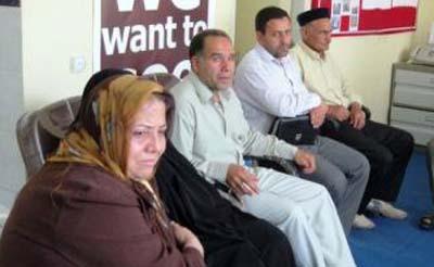 جلسه ای با خانواده های عضو انجمن نجات استان مرکزی