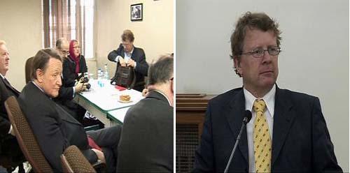 British parliamentary delegation visits Nejat Society in Tehran