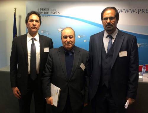 شرکت جداشدگان فرقه رجوی در جلسه پارلمان اروپا در بروکسل