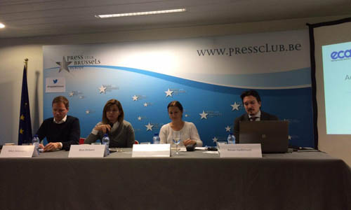 A delegation of the MKO ex- members participated the EU Press Club Conference