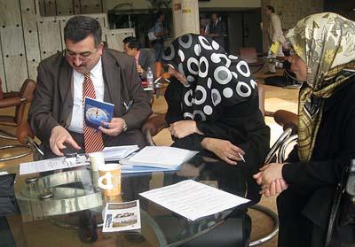 اعضای انجمن عدالت در جریان اجلاس شورای حقوق بشر سازمان ملل متحد