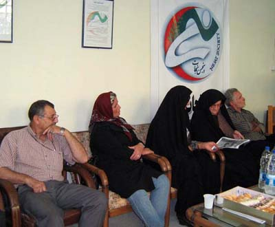 Hajipur Ex-member of Rajavi's Cult Welcomed by Nejat Families