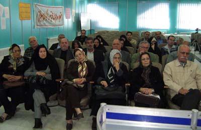 Nejat Society Meeting in Gilan