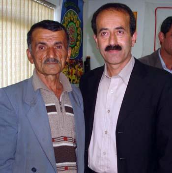آقای محمد باقر کشاورز و خانواده مجتهدی