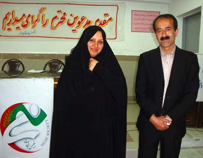 دیدارخانواده حسین علیخواه با محمد باقر کشاورز