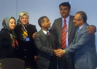 حضور خانم عبداللهی در اجلاسیه حقوق بشر سازمان ملل متحد