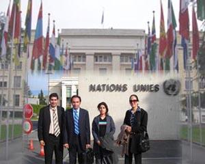 Nejat Society Delegation in Geneva
