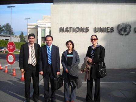 Nejat Society Visits Geneva With Camp Ashraf Rescue Plan