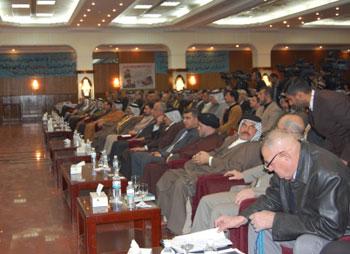 تحت شعار سيادة القانون على كل الاراضي العراقية ...