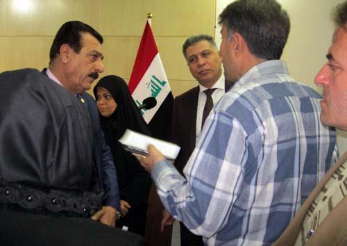 غيظ ورد فعل ذليل لزمرة رجوي حيال مبادرة مجلس النواب العراقي