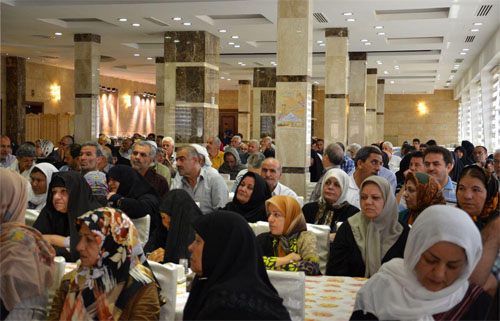 Families of MKO hostages visit the Iraqi parliament