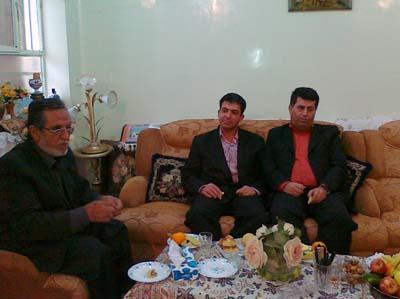 Nejat Society Khuzestan Branch visit families of Ashraf captives