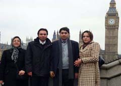 Nejat delegation met Shadow Defence Minister in London