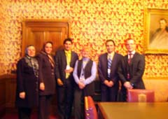 Nejat Society delegation met in the House of Lords with Baroness Neville-Jones