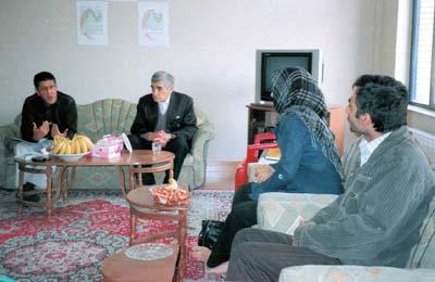 MKO members families met ICRC representative - Orumiyah