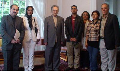 Representatives of the Paris Meeting met Mr. AbulHassan Banisdr