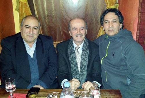دیدار هیاتی از جداشدگان فرقه رجوی با آقای المرعبی در پاریس
