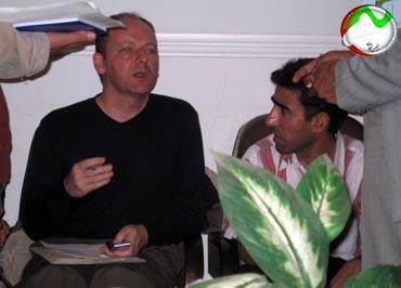 MKO Members' Families Meet Red Cross Reps-Shiraz