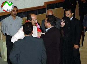 Nejat society meeting in Tabriz