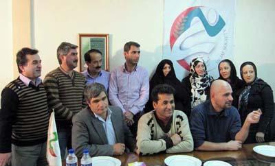 Nejat Society meeting in Tehran