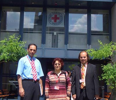 دیدار فعالین حقوق بشر با مسئولین صلیب سرخ جهانی در ژنو