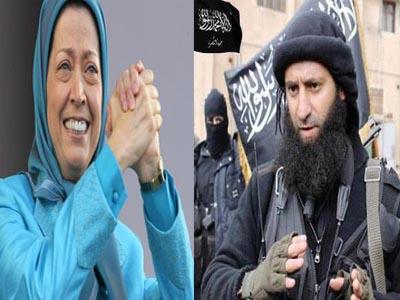 خصائص مشترکه بین داعش وزمره خلق الارهابیه