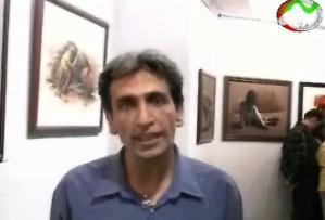 نمایشگاه تابلوهای پرویز آقا رخ