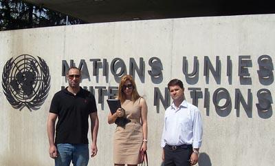 ملاقات نماینده های انجمن ایران ستارگان با شهرداری ژنو و تعدادی از اعضای پارلمان سویس