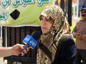 Ms. Sorayya Abdullahi has written a letter to the US Secretary of States on behalf of the families picketing in front of Ashraf cultic garrison
