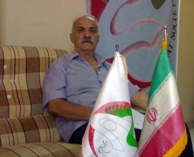 حضور آقای ناصر رحیم اربابی در دفتر انجمن نجات گلستان