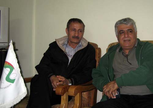 Pictorial- Mr. Rashid Golafshan happy with the news of his brother's transfer to Albania