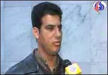 قاسم لازم حمداني احد المواطنين الايرانيين من مدينة اهواز