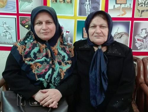 نامه به زهرا حسینی عضو اسیر فرقه بدنام رجوی