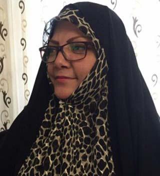 رسالة من السيدة ماه منير ايران بورإلى رئيس الوزراء العراقي السيد حيدر العبادي