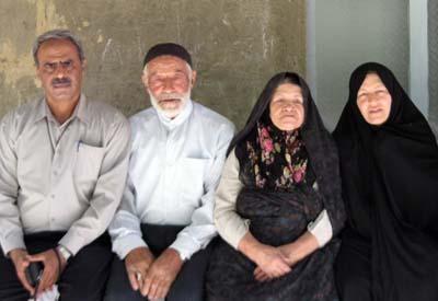 نامه ی آقای شمس ا.... نوری به فرزندش حمید رضا نوری اسیر در کمپ لیبرتی