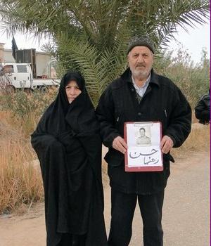نوید رهایی: نامه مادر چشم انتظار به فرزندش حسن رهنما