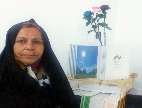 دیدار صمیمی با خانواده علی مدد صادقی اسیر فرقه رجوی در دفتر انجمن نجات زنجان