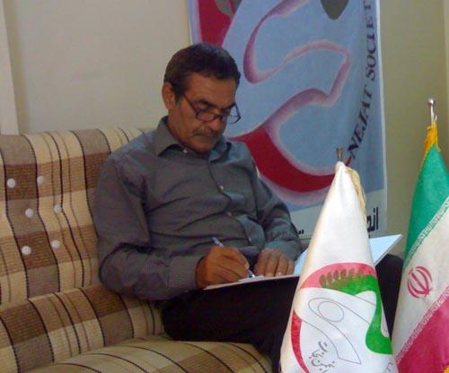 حضور خانواده ترابی در دفتر انجمن نجات گلستان