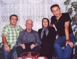 تلاشهای خانواده زاهدی برای رهایی عبدالرضا زاهدی از چنگال مجاهدین