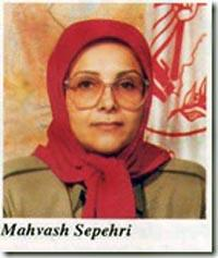 MAHVASH SEPEHRI( NASRIN), who is the second woman in women commanding section after MARYAM RAJAVI and known as prestige demolisher