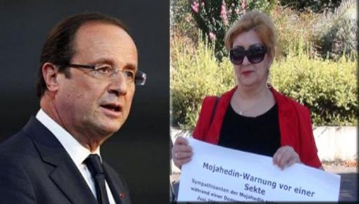 President Hollande should curtail violent activities of Mojahedin Khalq in France