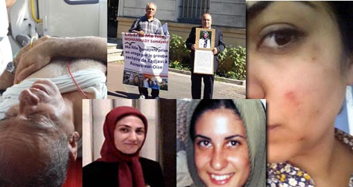 Our story thus far: Another Mojahedin attack on two fathers and the sister of MEK's captives