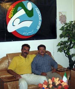 Mr. Hadi Negravi - MKO ex-member in Nejat Society office