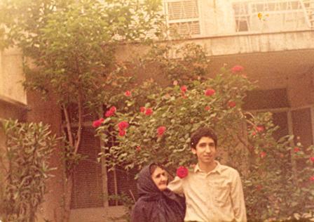 زنده یاد سعید نوروزی در ایران قبل از عزیمت به خارج از کشور